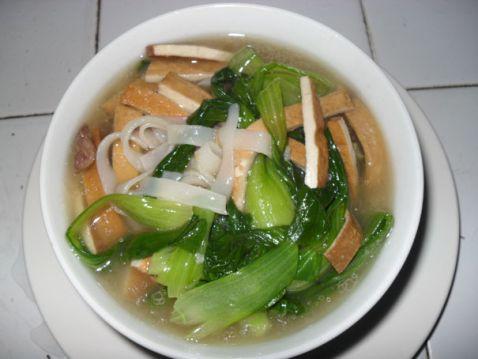 青菜咸肉汤粉怎么炖
