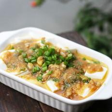 葱香蛋黄豆腐