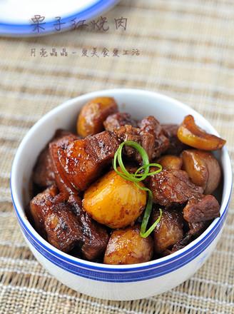 板栗紅燒肉的做法