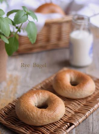 黑麦贝果面包的做法
