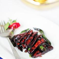 杏鲍菇炒杭椒