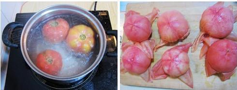 西红柿鸡蛋饺子的家常做法