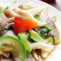 平菇炒鮮蔬