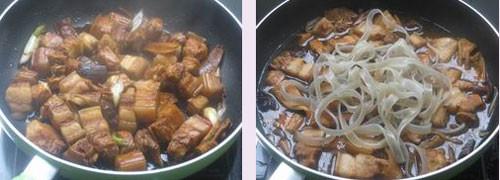 猪肉炖粉条的简单做法