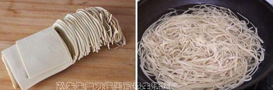 凉拌干豆腐的做法大全