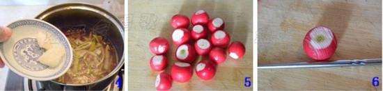 甘草桔皮泡樱桃萝卜的家常做法