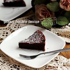经典巧克力蛋糕