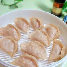 萝卜豆腐素馅蒸饺