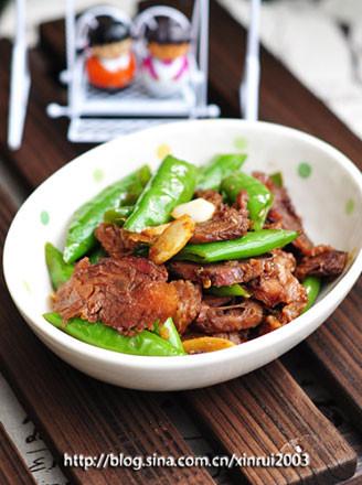 杭椒牛肉片的做法