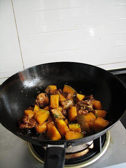 南瓜豆豉炒排骨怎样煮