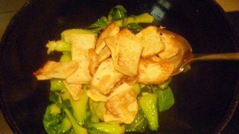 青菜豆腐怎么炒