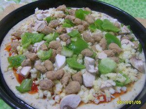 牛肉蘑菇比萨怎么炒