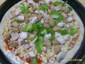 牛肉蘑菇比萨怎么吃