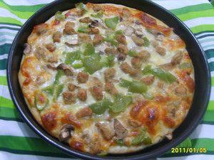 牛肉蘑菇比萨怎么煮