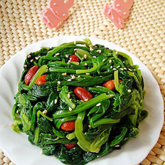 芝麻花生菠菜