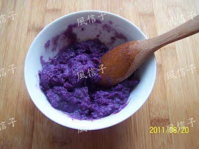 紫薯玉米蛋饼的做法大全