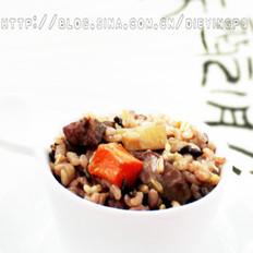 五谷杂粮羊肉抓饭