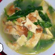 汤菜蛋皮汤