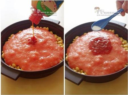茄汁黄豆的简单做法