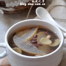 蜜豆百合雪梨汤
