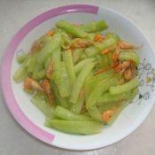 虾米炒黄瓜条