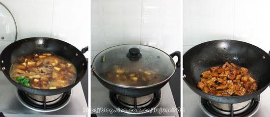 五花肉烧豆干的家常做法
