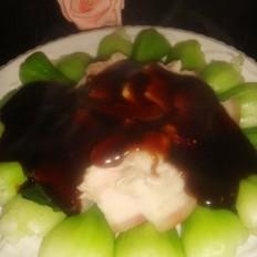 青菜扒五花肉