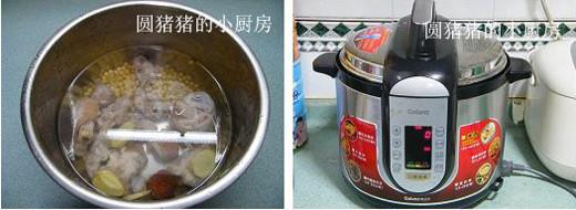 黄豆猪手汤的家常做法