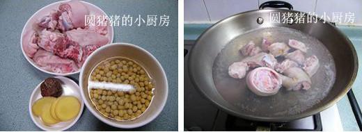 黄豆猪手汤的做法大全