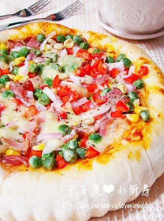 培根披薩的做法