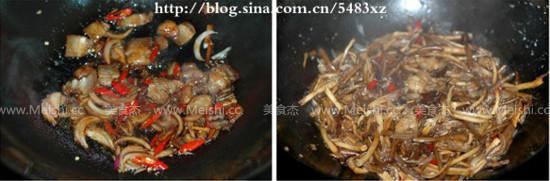 干锅茶树菇的家常做法