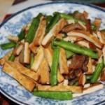 腊肉香干四季豆
