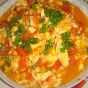 雞蛋炒柿子玉米