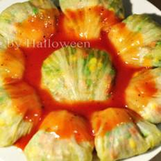 茄汁生菜包