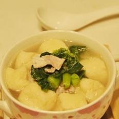 小蔬豆泡汤