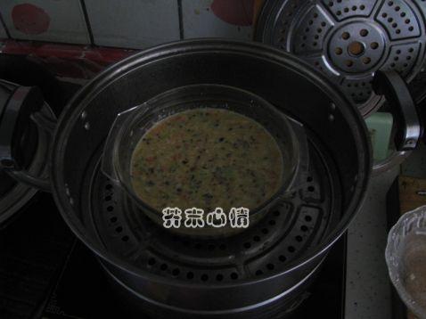 杂蔬肉末蒸蛋怎样炒