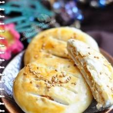 肉松豆沙老婆饼