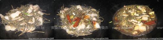 干豆角烧五花肉的家常做法
