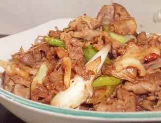 美味家常京葱炒羊肉的做法