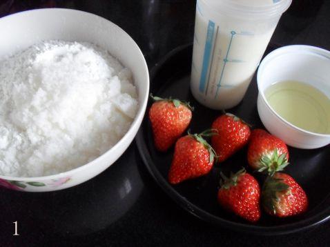 草莓麻薯的做法大全