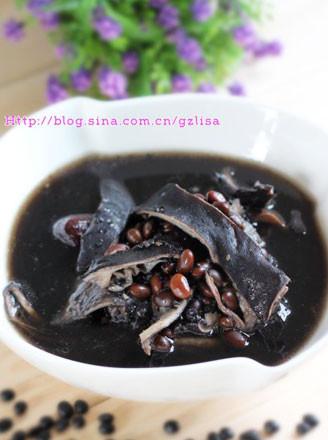 三黑猪肚汤的做法