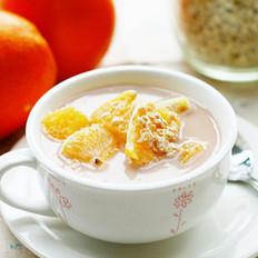 甜橙燕麦牛奶