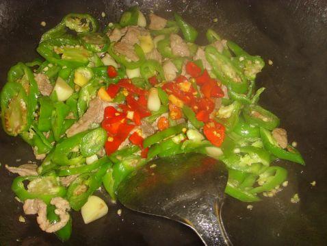 剁椒味辣炒肉怎么做