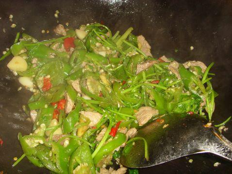 剁椒味辣炒肉怎么煮