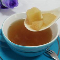 银耳香梨甘蔗罗汉果蜂蜜茶