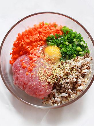 猪肉胡萝卜饺子馅的做法