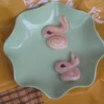 玉兔花樣面食