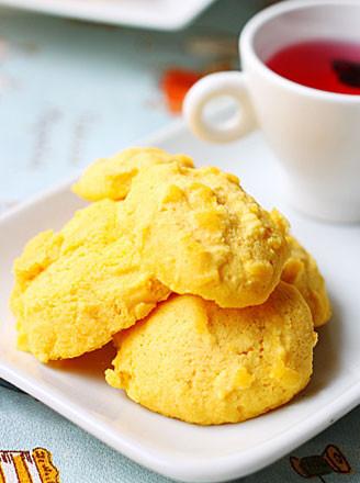 微波玉米面小饼干的做法