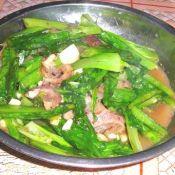 牛腩油麥菜
