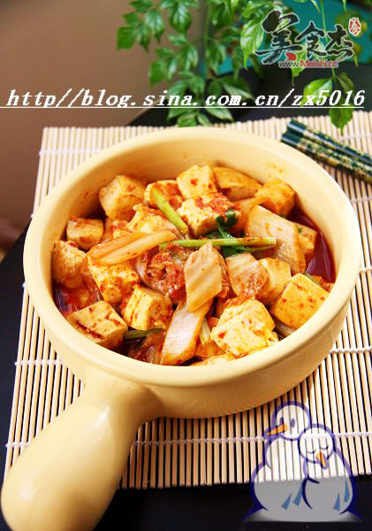 辣白菜烧豆腐的做法大全